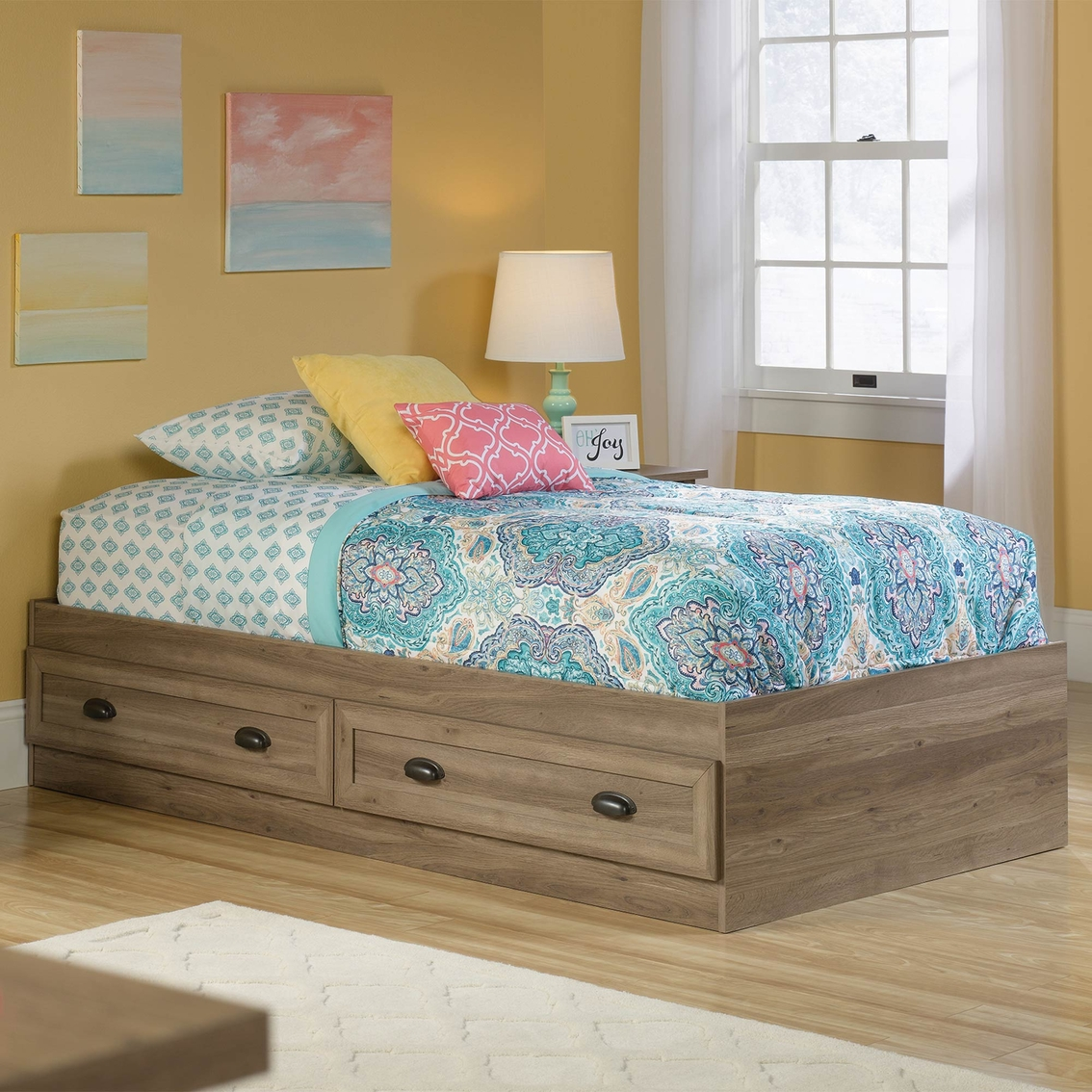 Sauder County Line Twin Platform Bed | Beds | Home ...