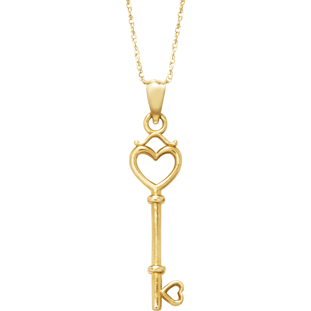 10k yellow gold key pendant gold necklaces pendants jewelry 10k yellow gold key pendant gold necklaces pendants jewelry watches shop the exchange aloadofball Gallery