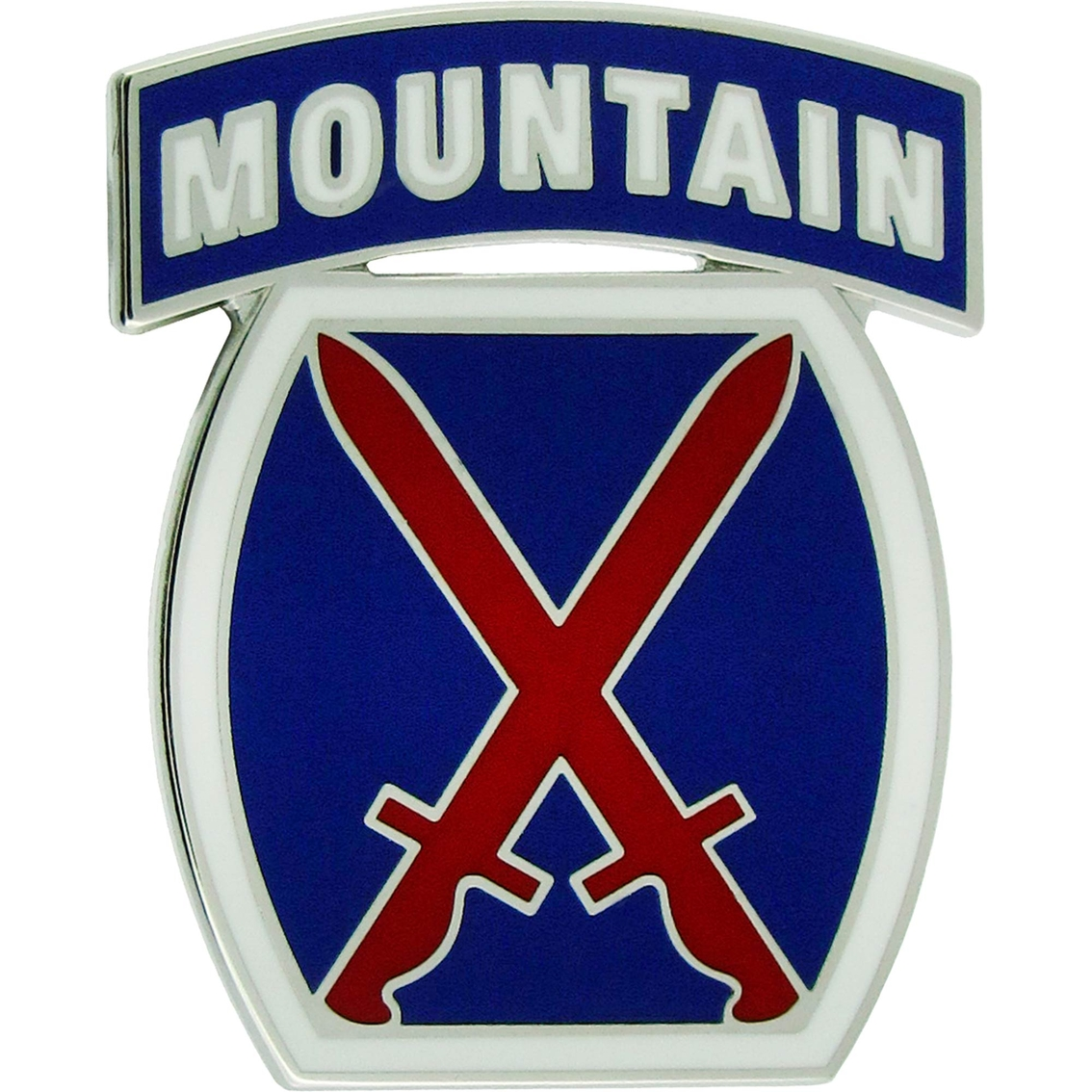 Army Csib 10th Mountain Division Insignia   Divisions ...