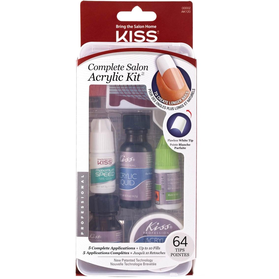 Kiss Complete Salon Acrylic Nail Kit