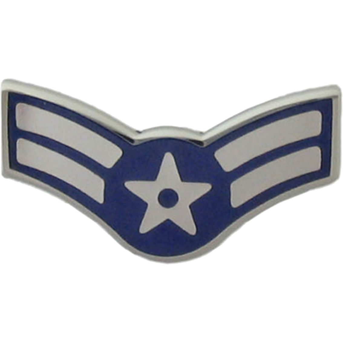 Air Force Rank A1c E-3 Metal Pin-on | Enlisted Metal Pin-on Rank