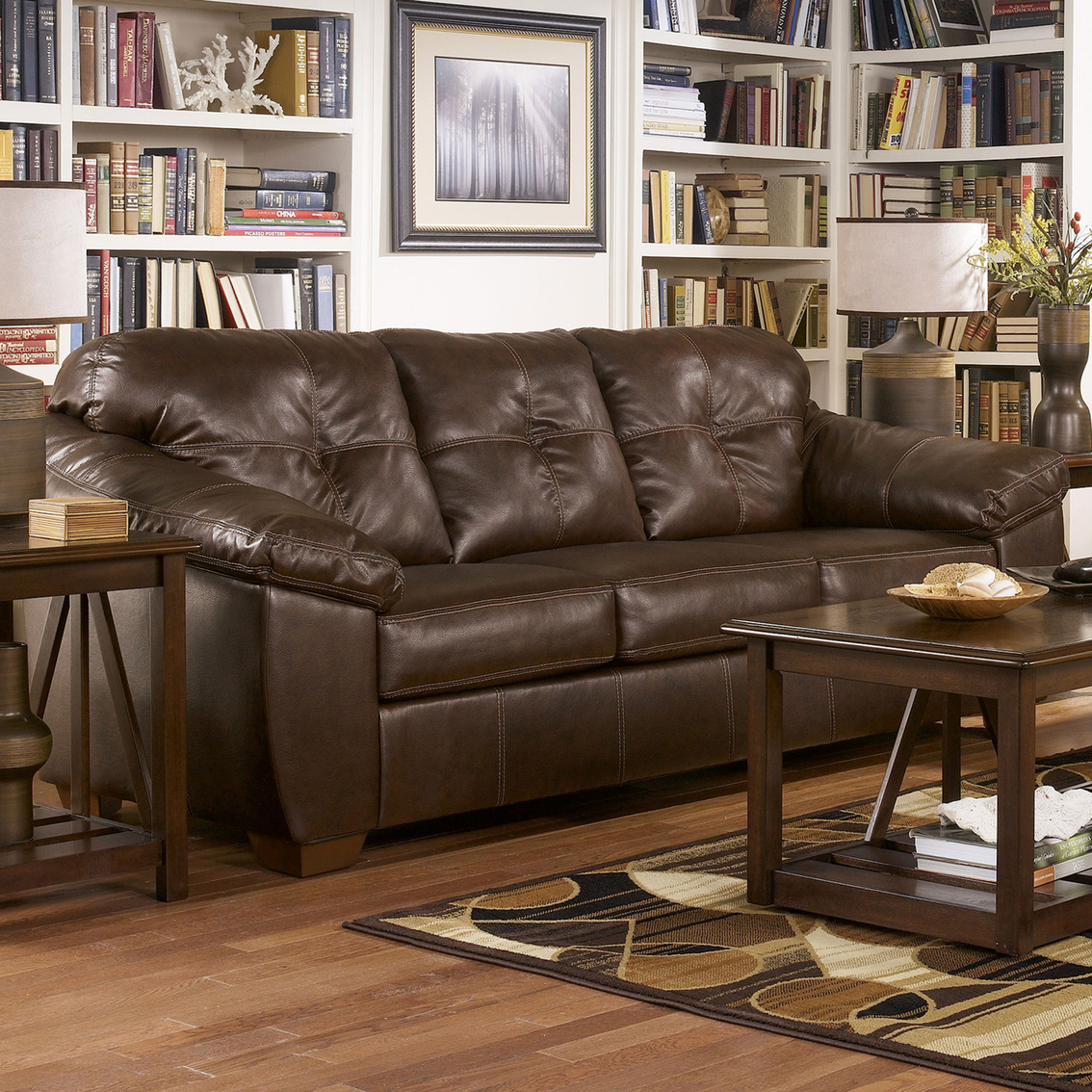 Ashley Furniture San Francisco: Ashley San Lucas Harness Sofa