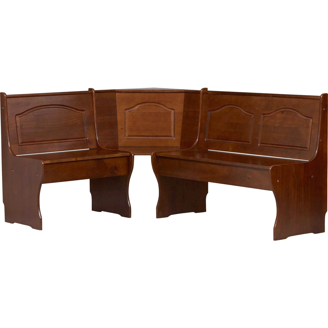Nook Dining Tables Chelsea Dining Nook With Nook Dining: Linon Chelsea Corner Breakfast Nook Side Bench