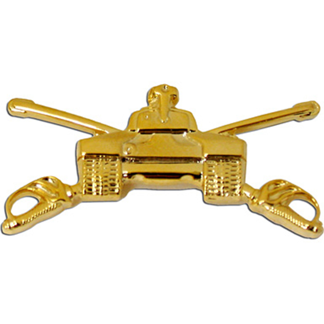 Army Officer Armor Branch Collar Device Set Officer