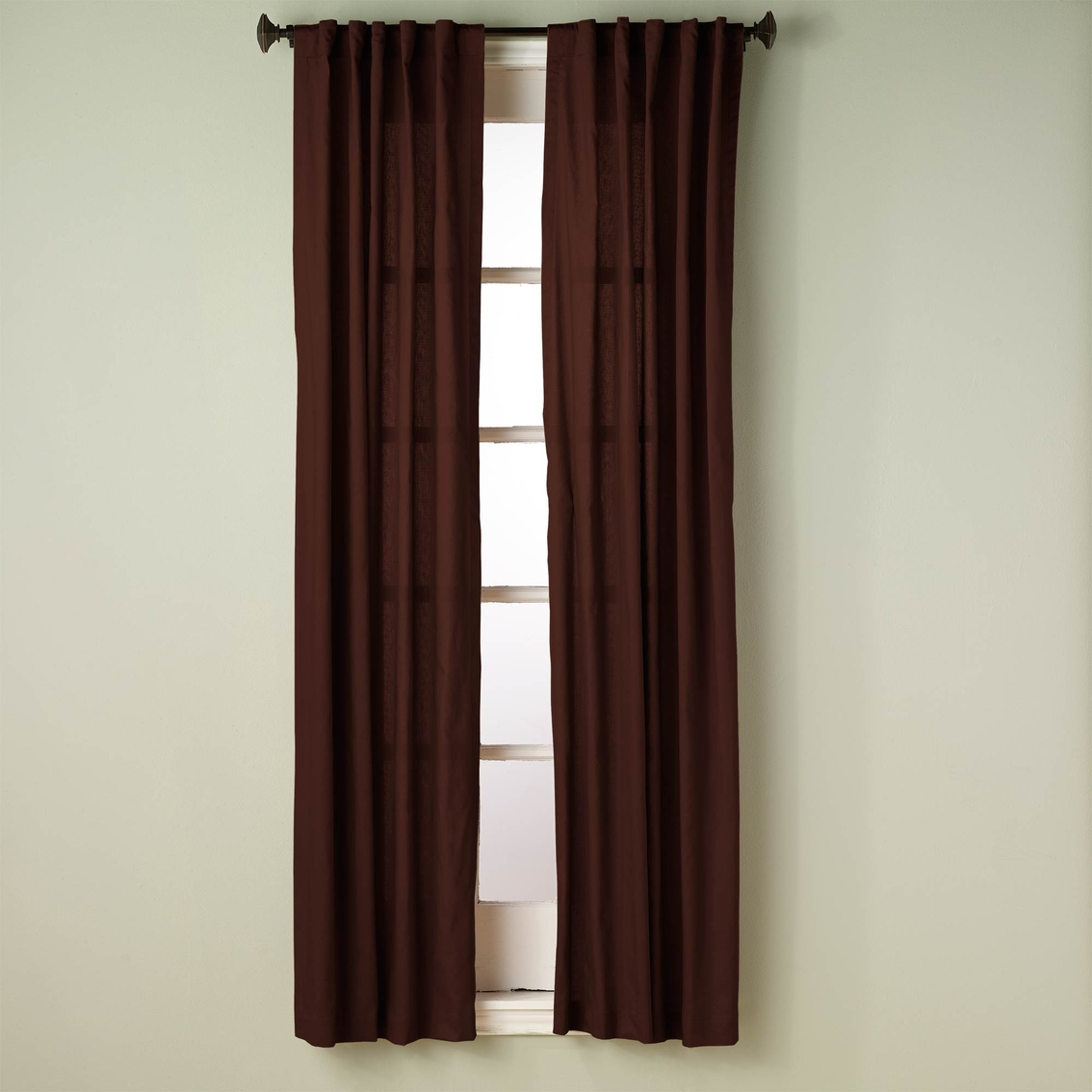 Simply Perfect Devon Canvas Thermal Window Curtain Panel 50 X 84