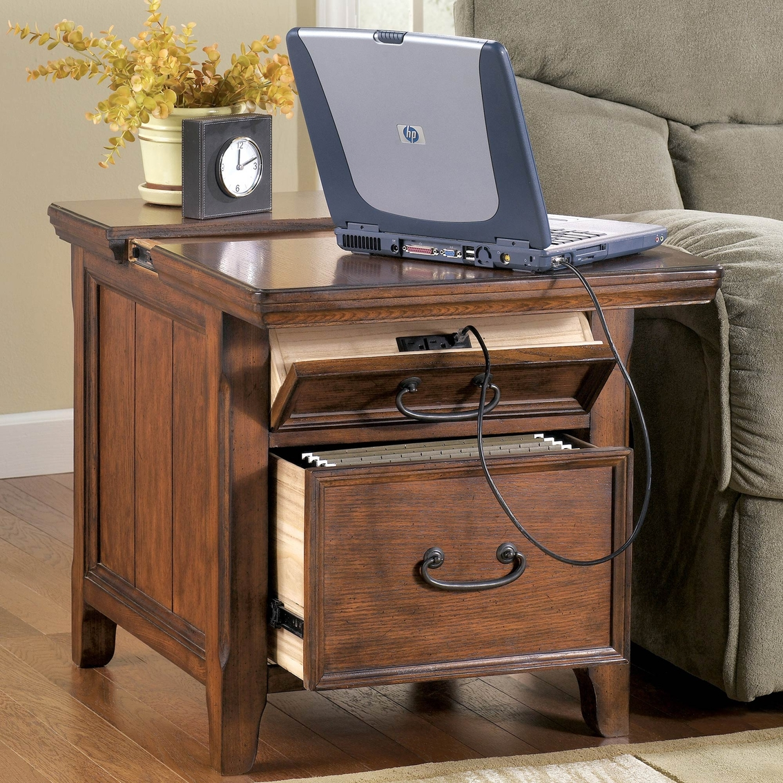 Ashley Woodboro Occasional Work Center End Table Coffee Console End Tables Home