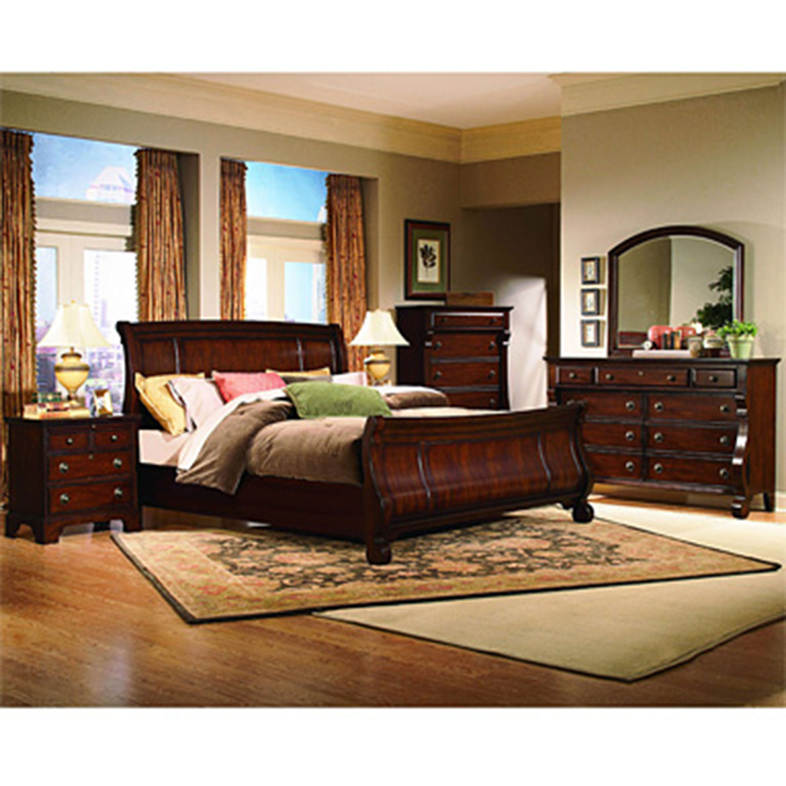 Kathy Ireland Home Georgetown 8 Pc Queen Bedroom Set Bedroom Suites Home Appliances