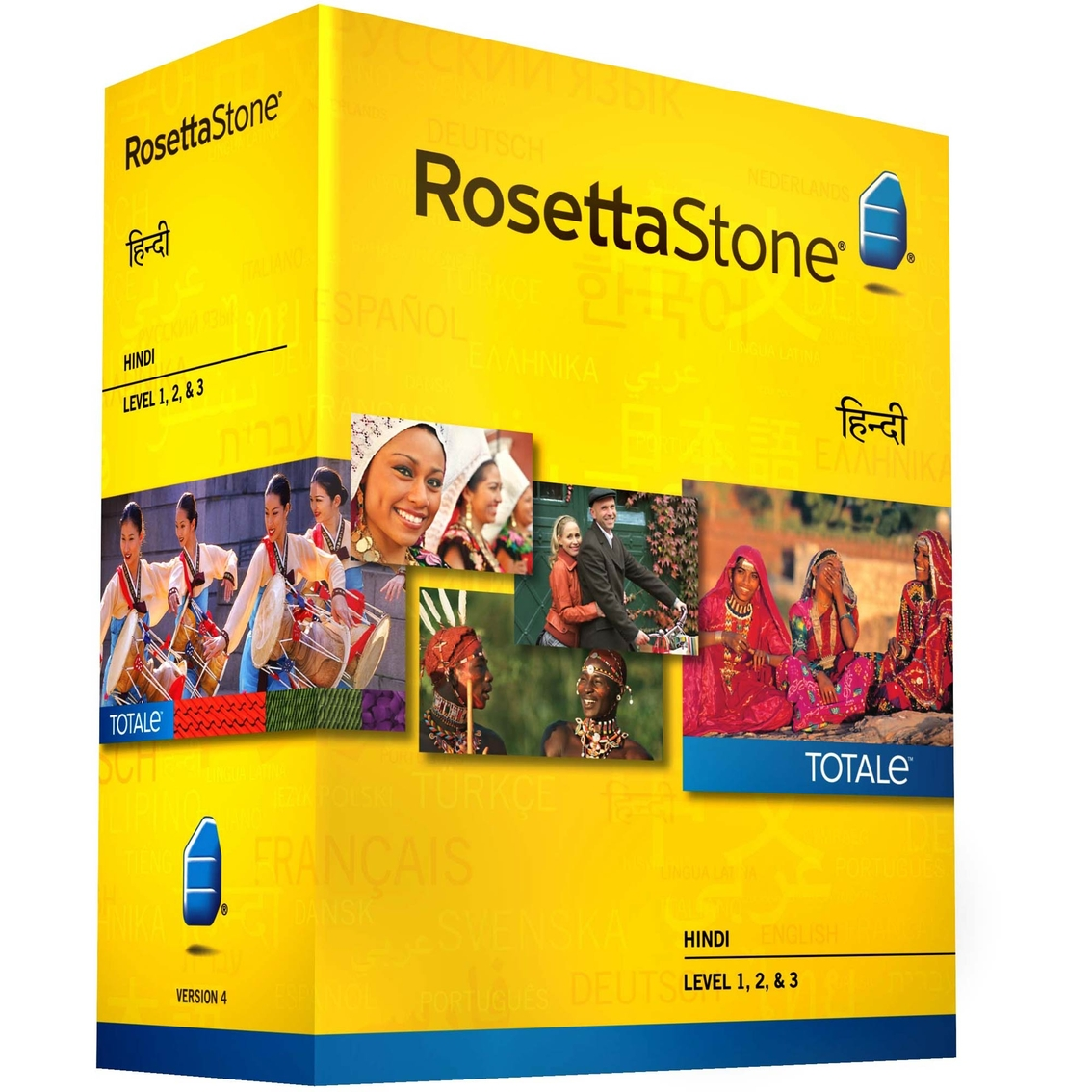 Rosetta Stone Version 4 Totale: Hindi Levels 1-3   Language Software