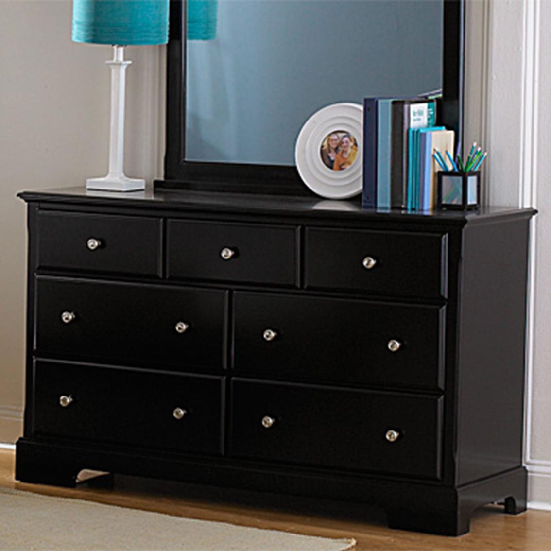 Homelegance morelle 7 drawer dresser dressers home for 12 inch depth dresser