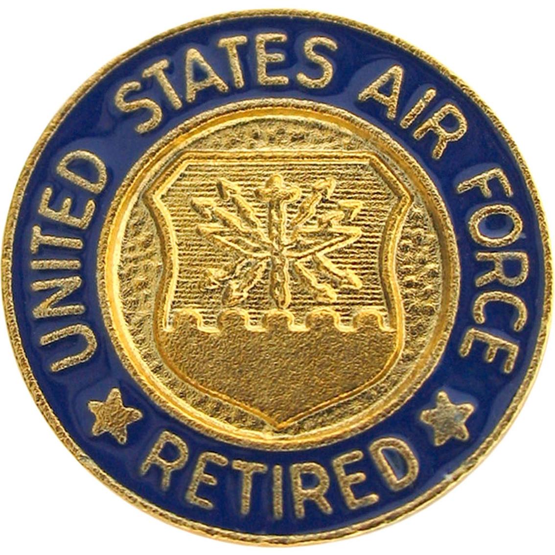 Air Force Lapel Button Retired Personnel Wear | Veterans & Retirees ...