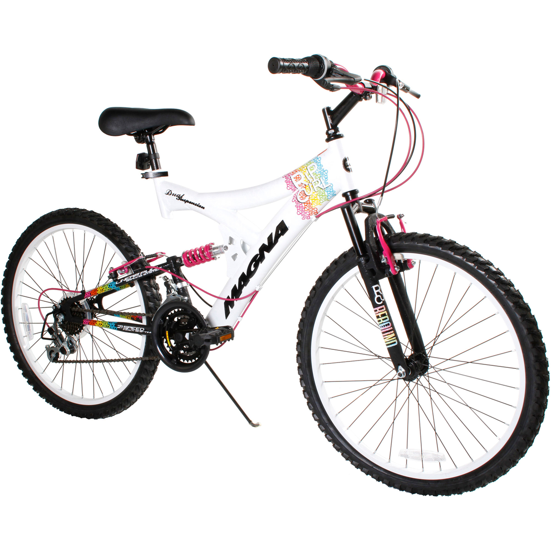Magna Ladies 24 In. Rip Curl Mountain Bicycle | Adult Bikes | Sports ...