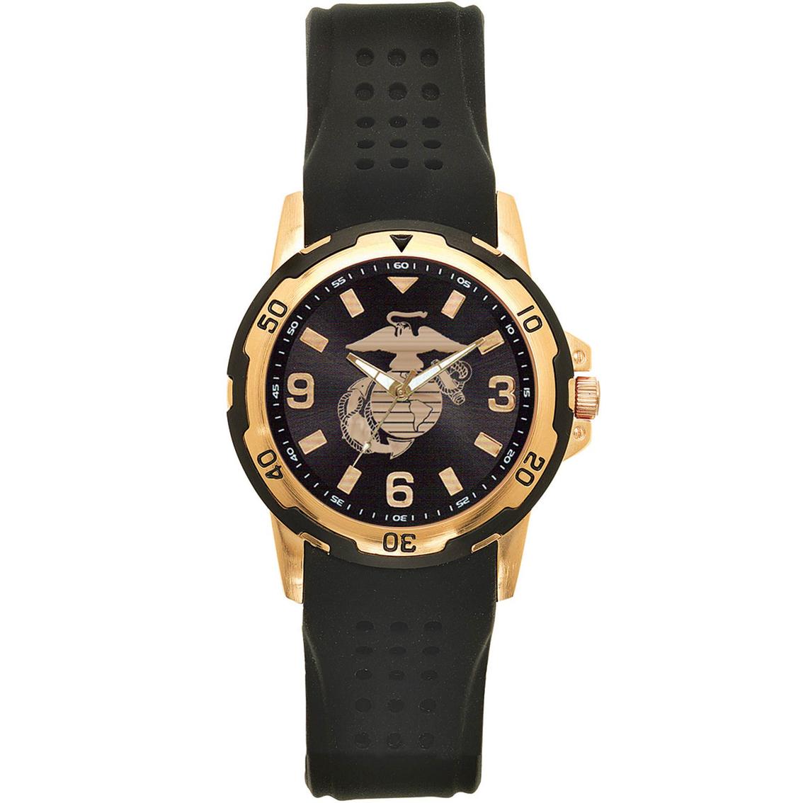 d4a7e597d7b Frontier U.s. Marine Corps Sports Dress Watch