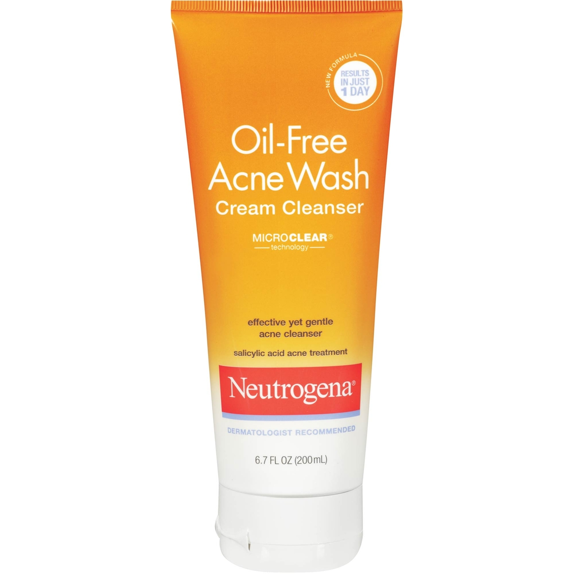 Neutrogena oil free cream cleanser