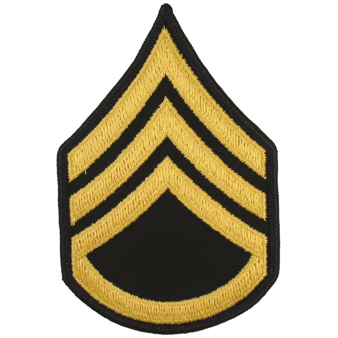 army rank ssg large asu sew on large asu rank military shop