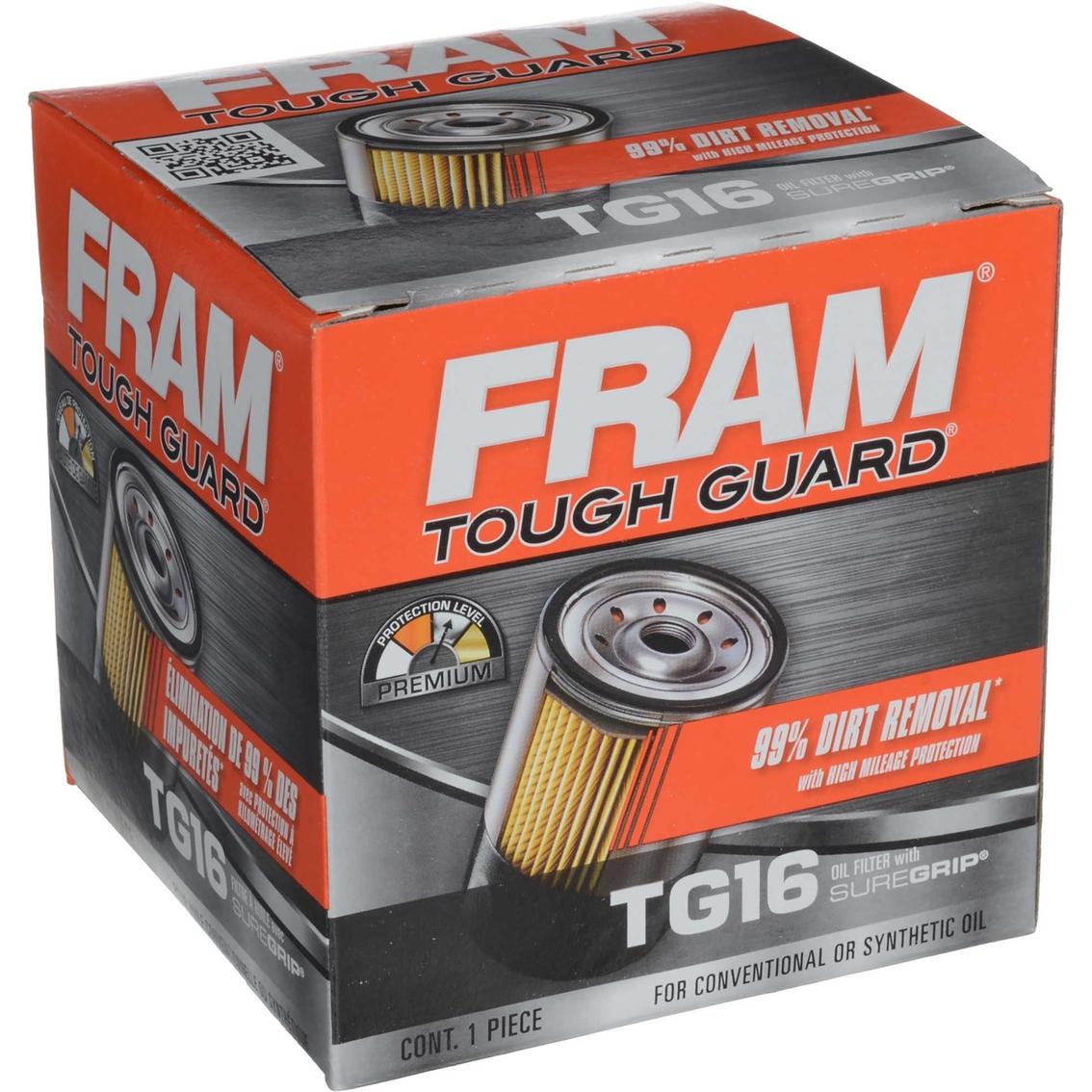 Fram Tough Guard Spin On Oil Filter Tg