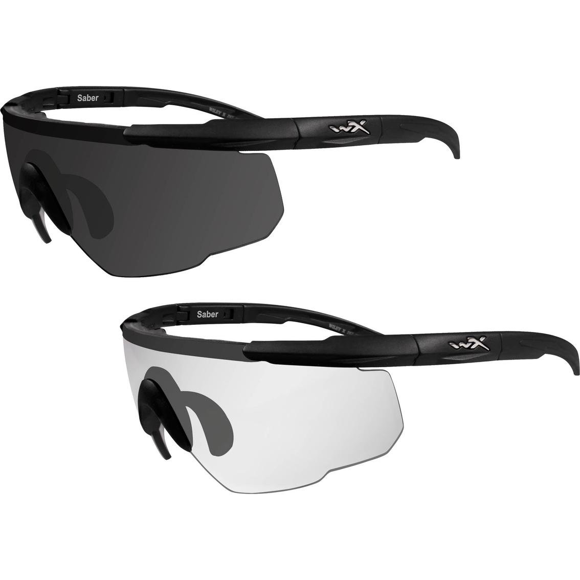 acf48302d76 Wiley X Unisex Saber Advanced X2 Sunglasses Set