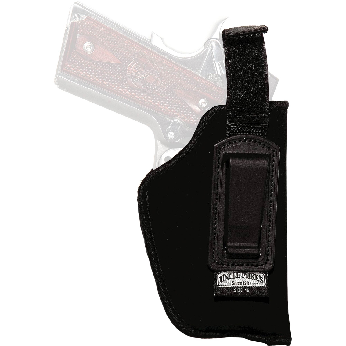 Uncle Mike's Nylon Inside The Clothes Holster Size 16 Right