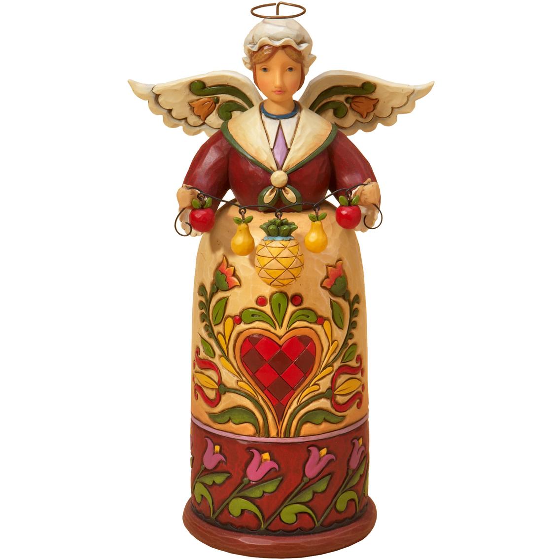 Enesco jim shore williamsburg christmas angel figurine