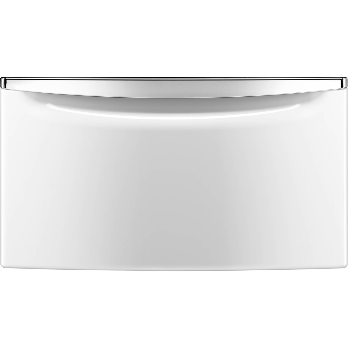 chrome drawer laundry and accessories storage handle maytag with pedestal appliances product