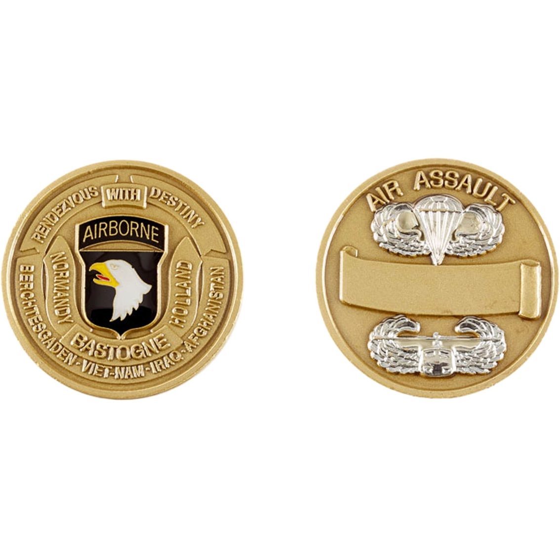 Challenge Coin 101st Airborne Division Coin   Coins & Cases   Gifts
