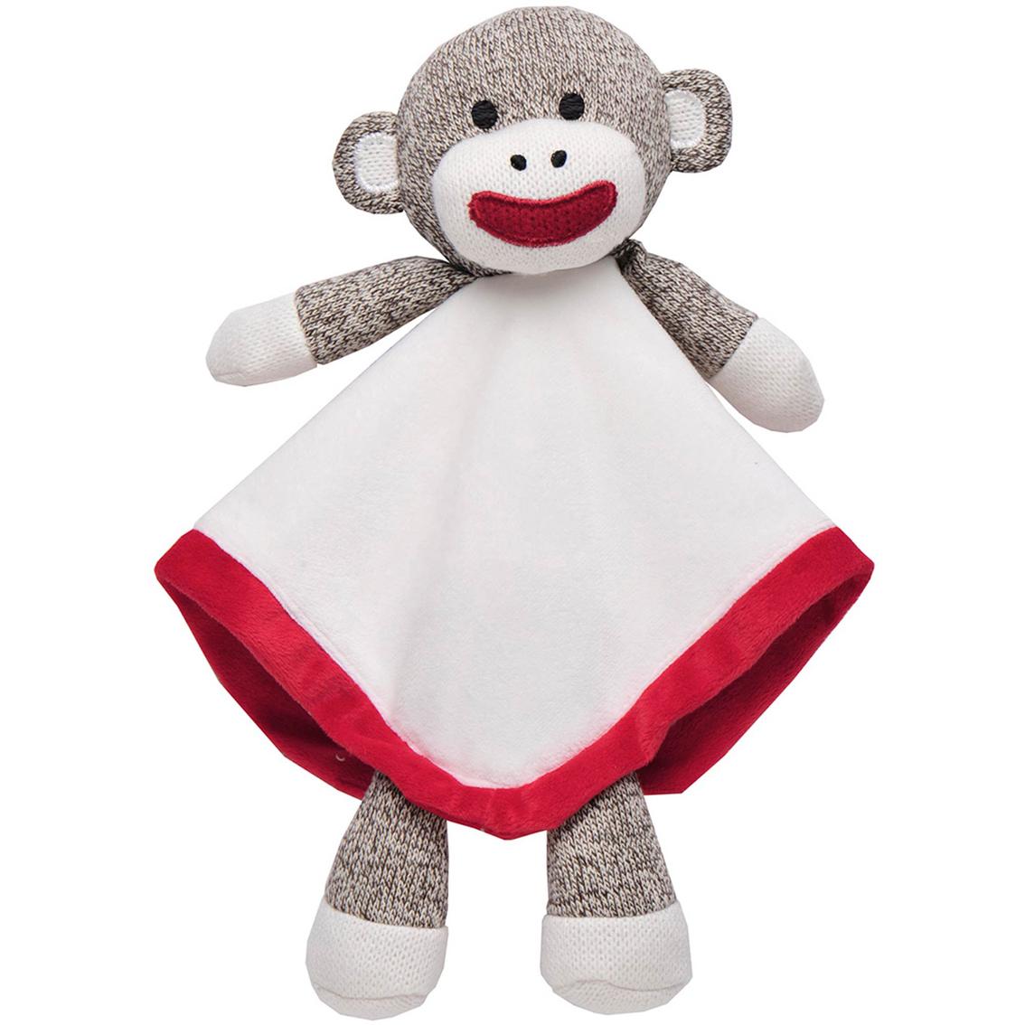 f4374df7a1 Baby Starters Sock Monkey Snuggle Buddy