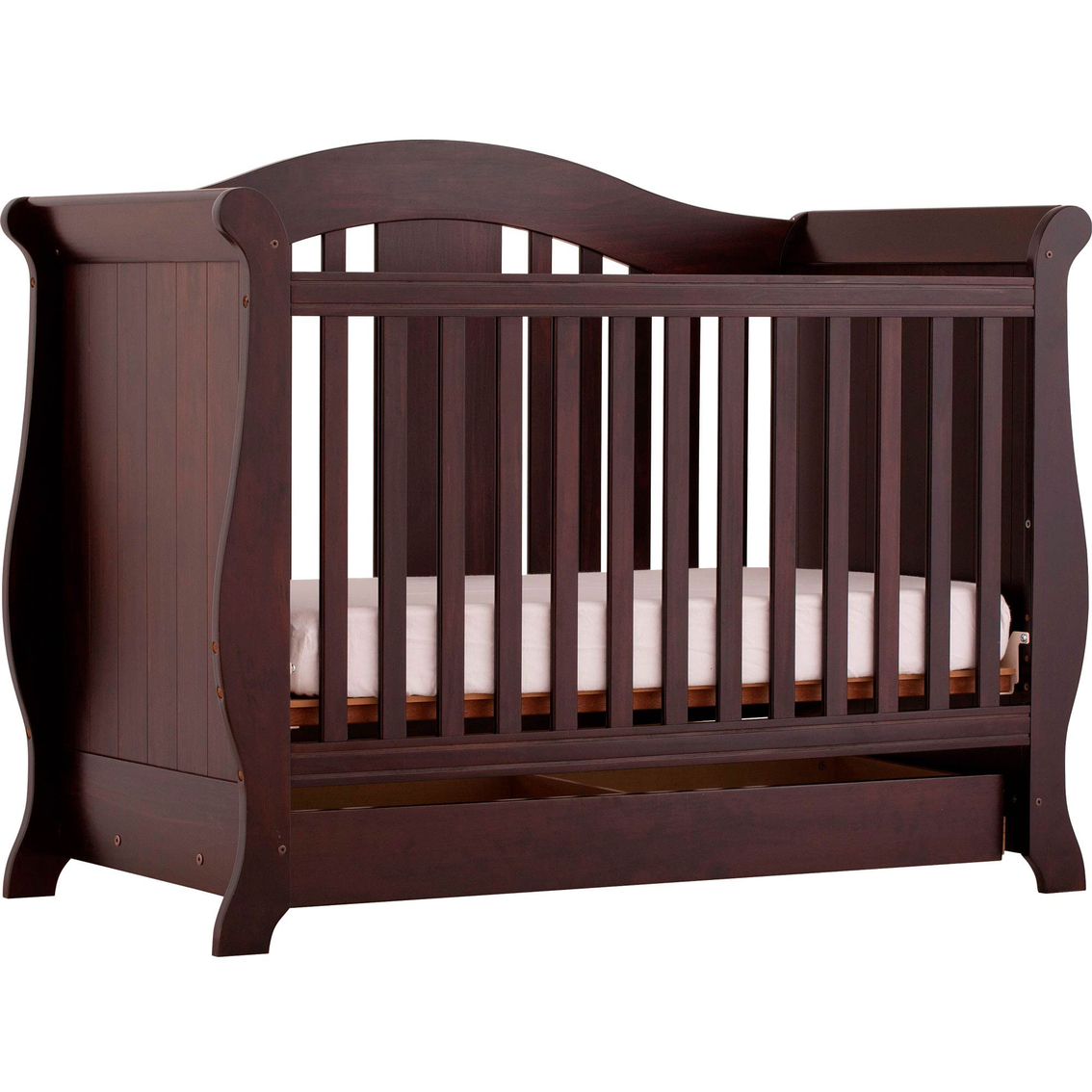 Storkcraft Vittoria Fixed Side Convertible Crib Cribs