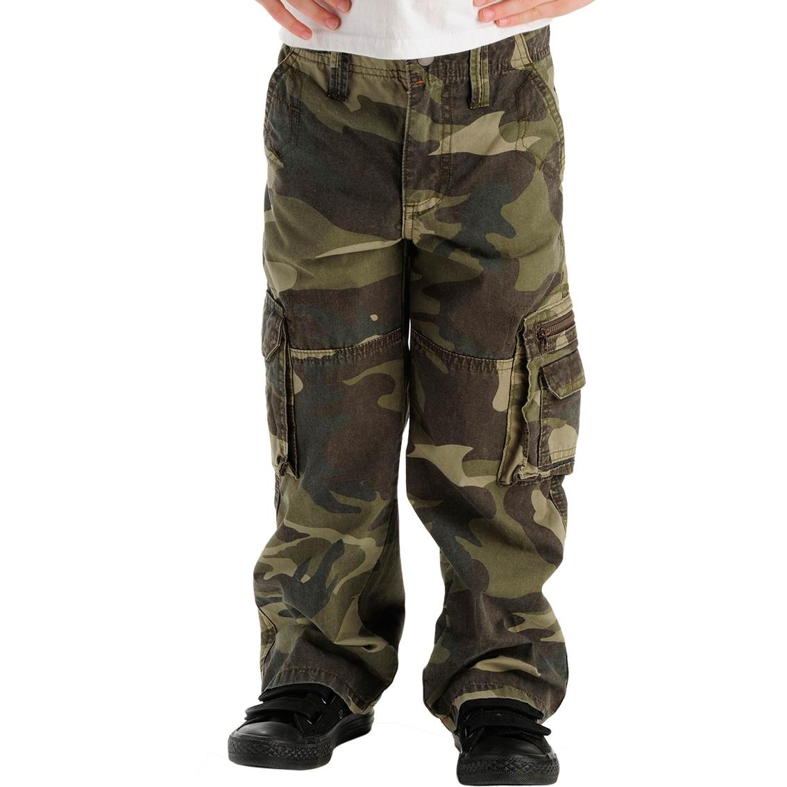 Lee Little Boys Dungaree Explorer Loose Fit Cargo Pants | Pants ...