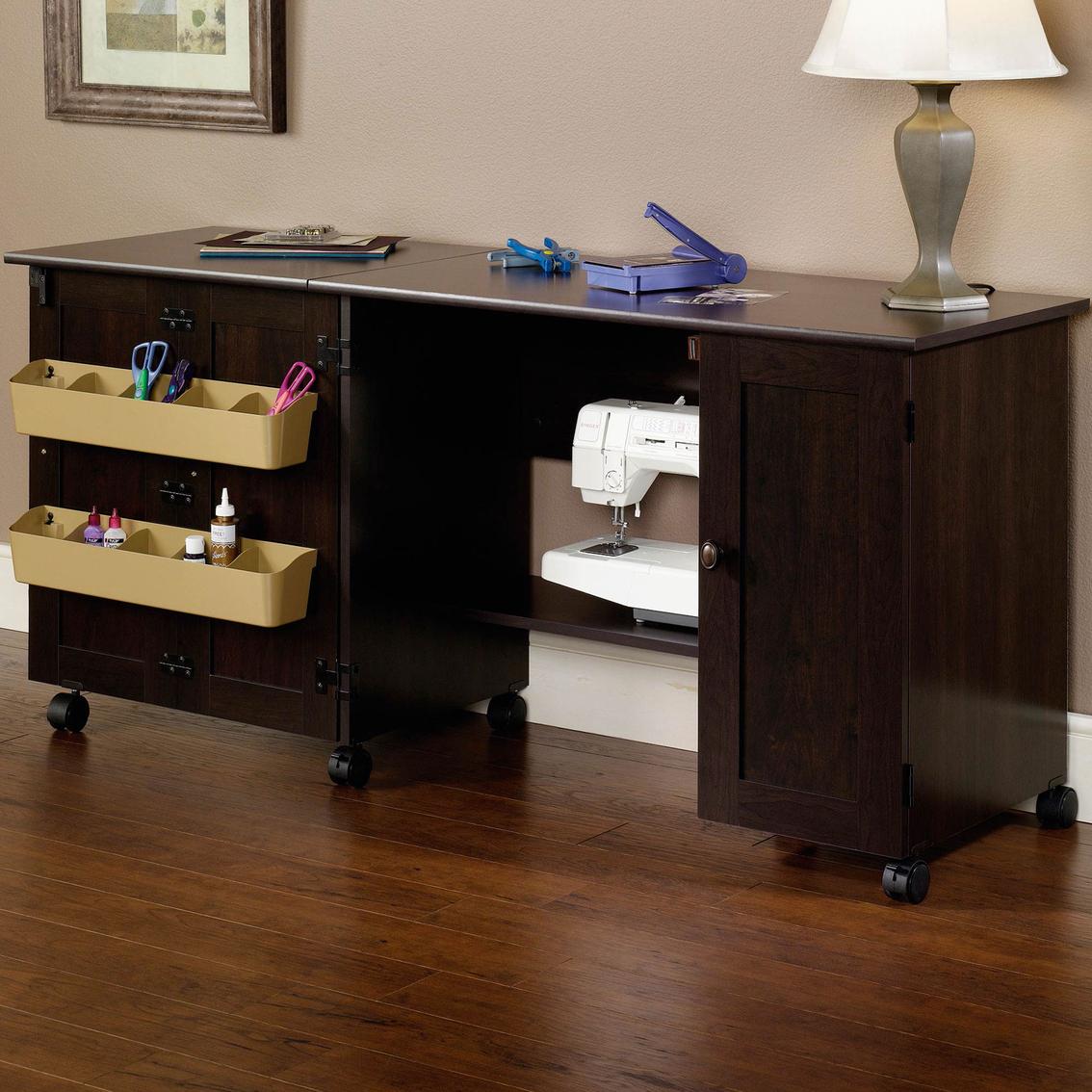 Sauder sewing craft table craft furniture storage for Sauder sewing craft table