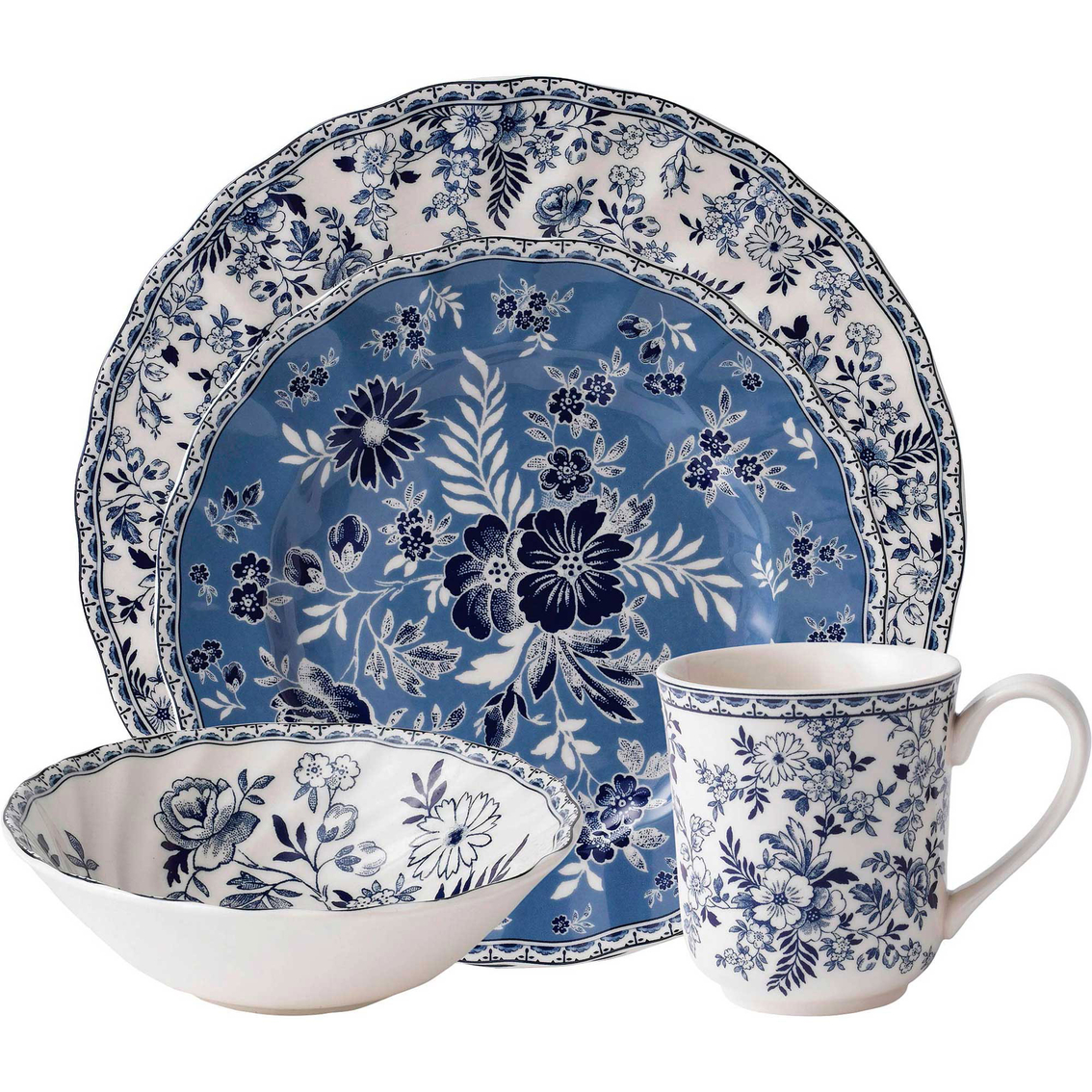 3015  sc 1 st  Exchange & Johnson Brothers Devon Cottage 4 Pc. Place Setting | Dinnerware Sets ...