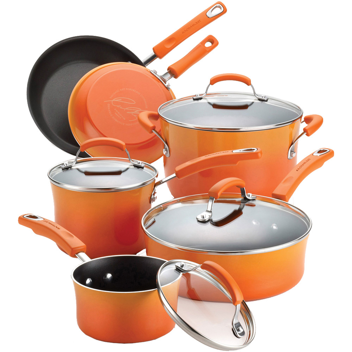 Rachael Ray Porcelain Enamel Ii 10 Pc. Cookware Set