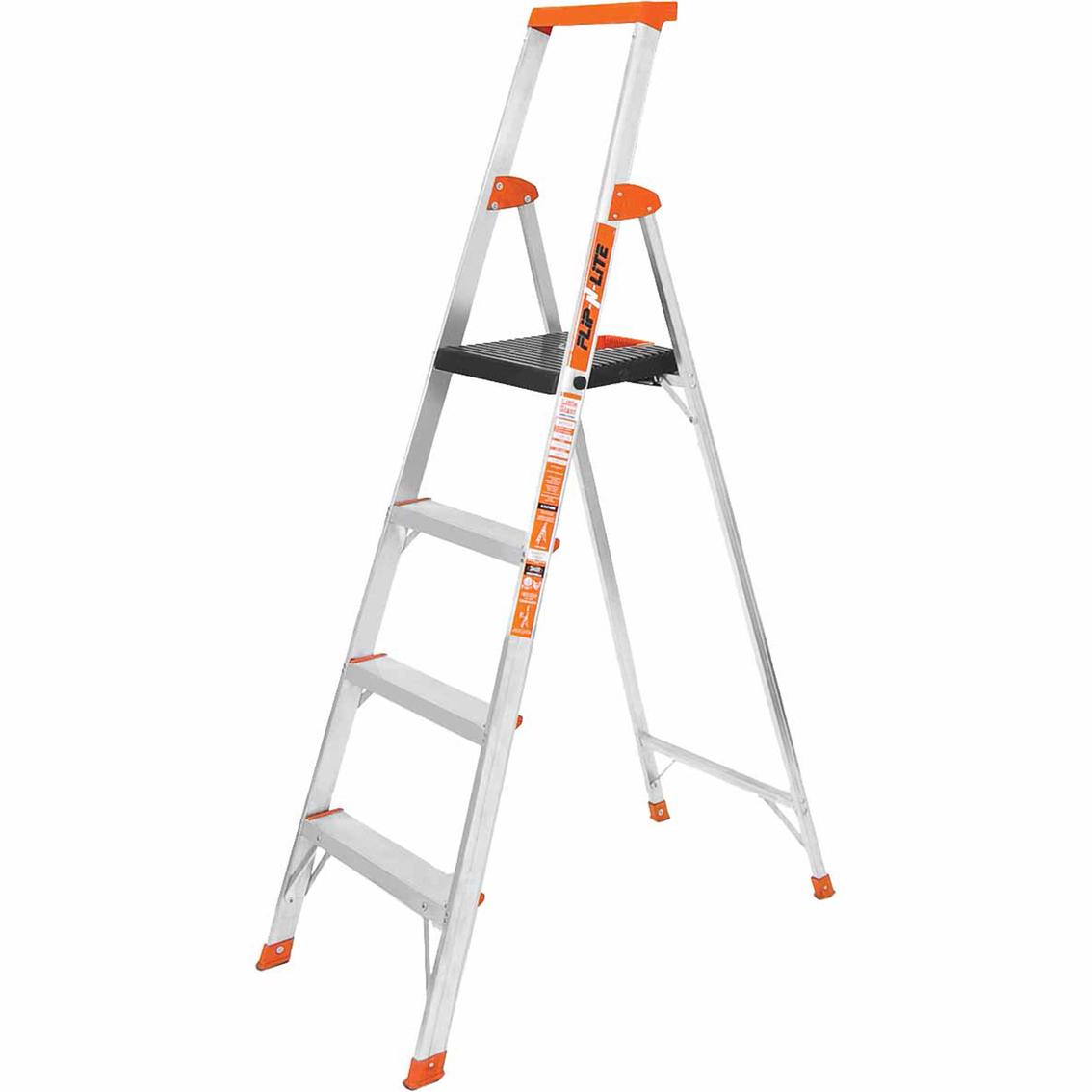 Little Giant Ladders 6 Ft Type 1a Flip N Lite Stepladder Stepladders Patio Garden Garage Shop The Exchange