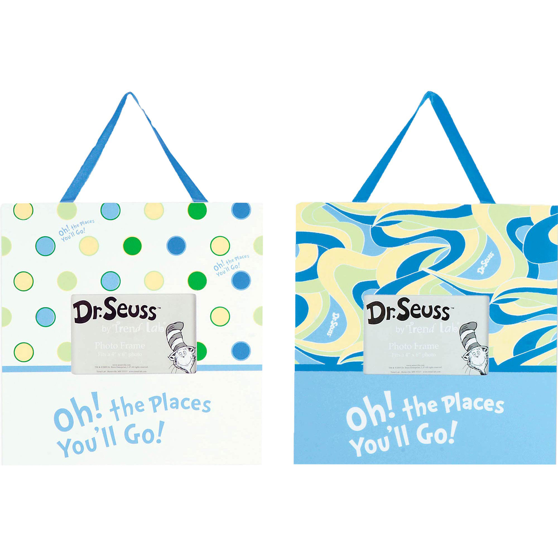 Trend Lab Dr. Seuss Oh! The Places You\'ll Go! Frame Set (set Of 2 ...