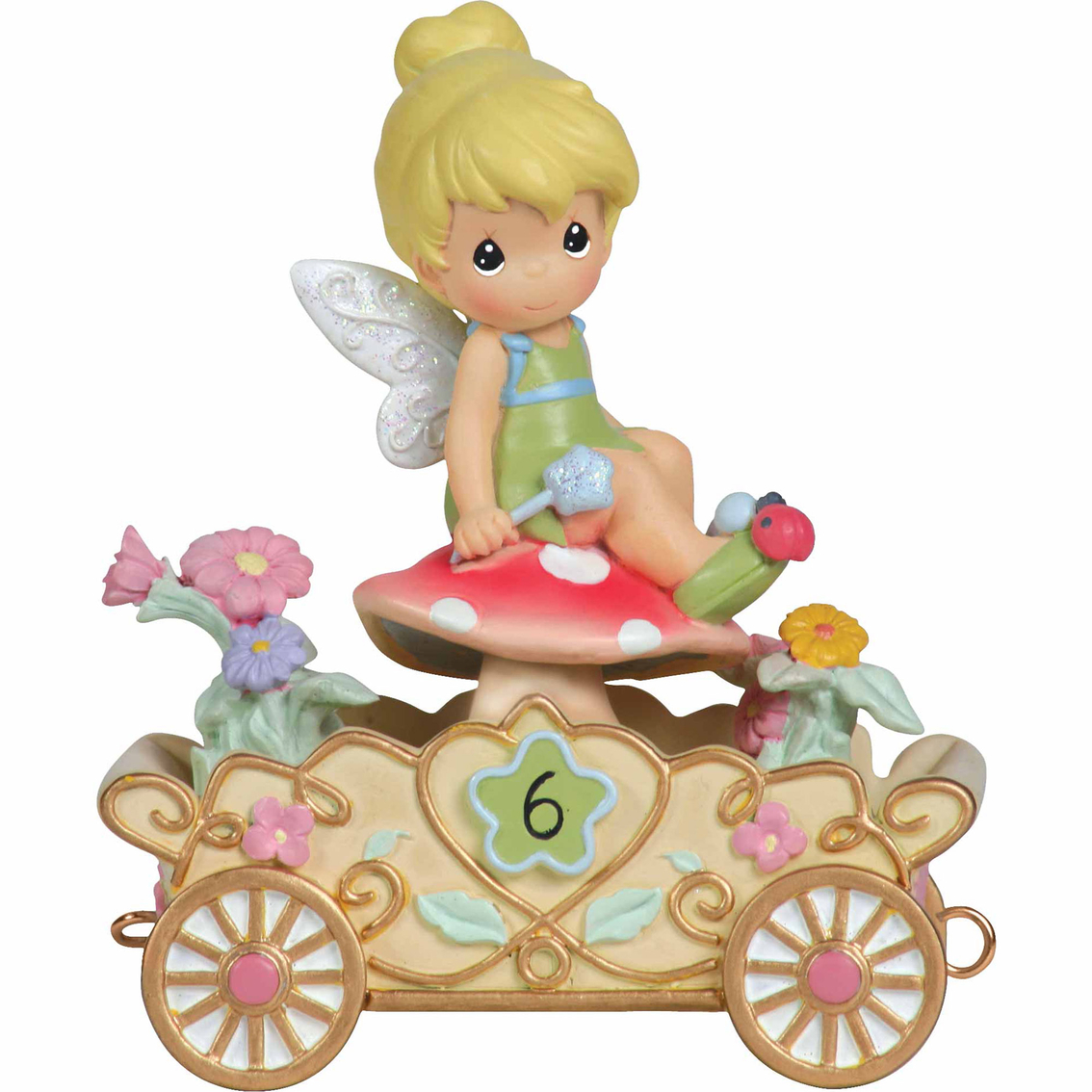 Precious Moments Disney's Tinker Bell Birthday Parade Age 6 Figurine |  Collectible Figurines | Food & Gifts | Shop The Exchange
