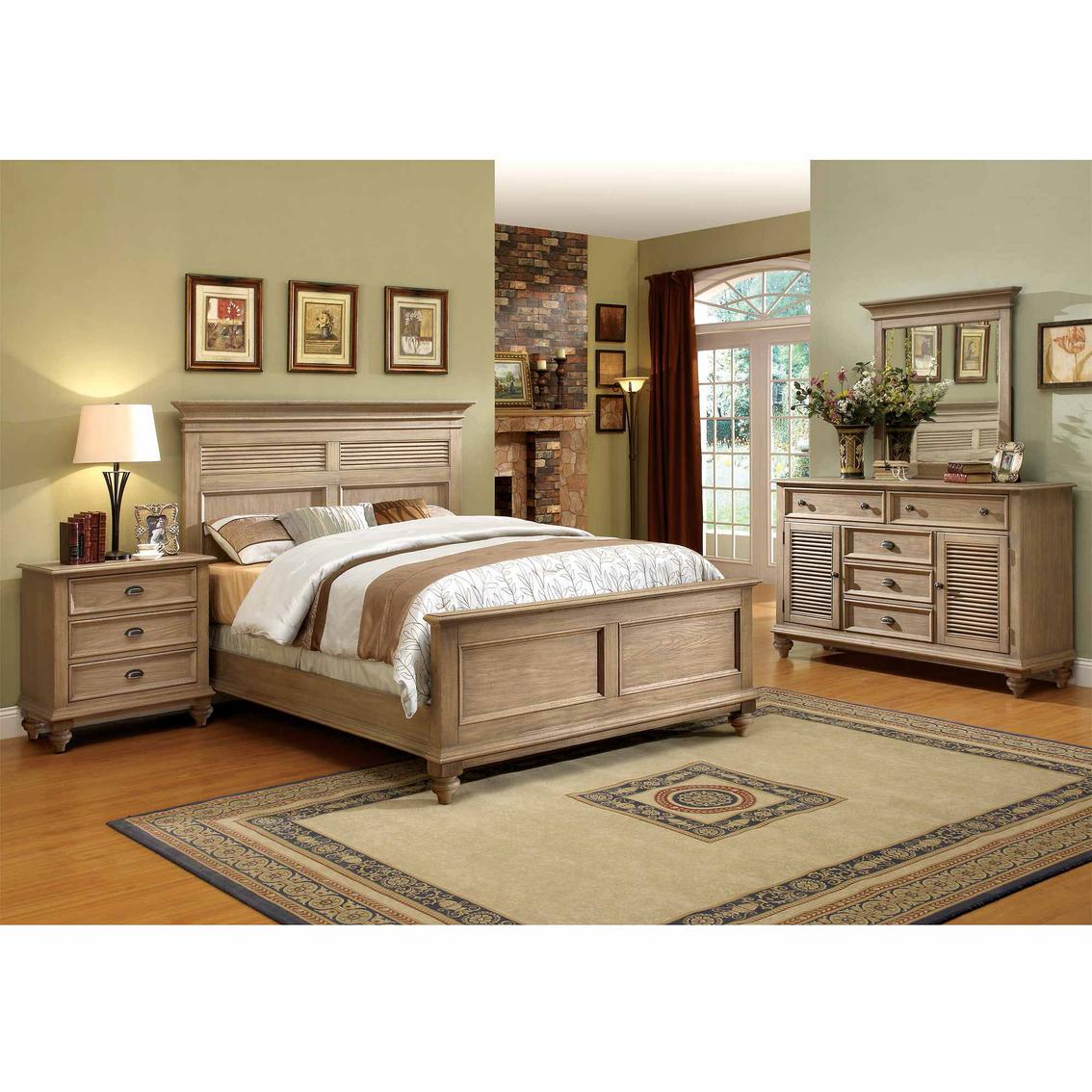 Riverside coventry shutter 4 pc bedroom set bedroom - Bedroom furniture set online shopping ...