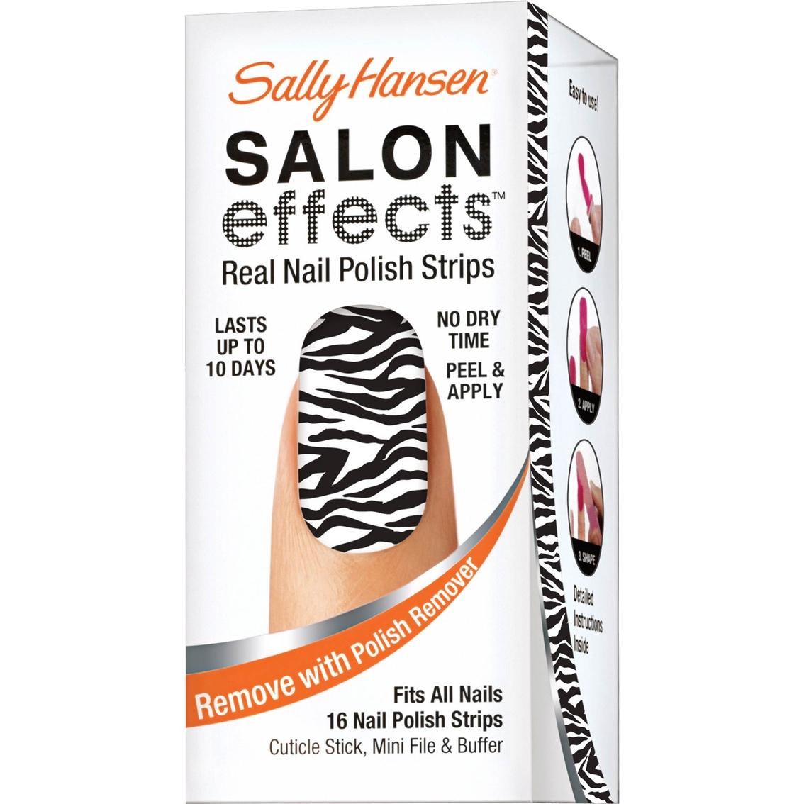Sally Hansen Salon Effects Real Nail Polish Strips | Nails & Art ...