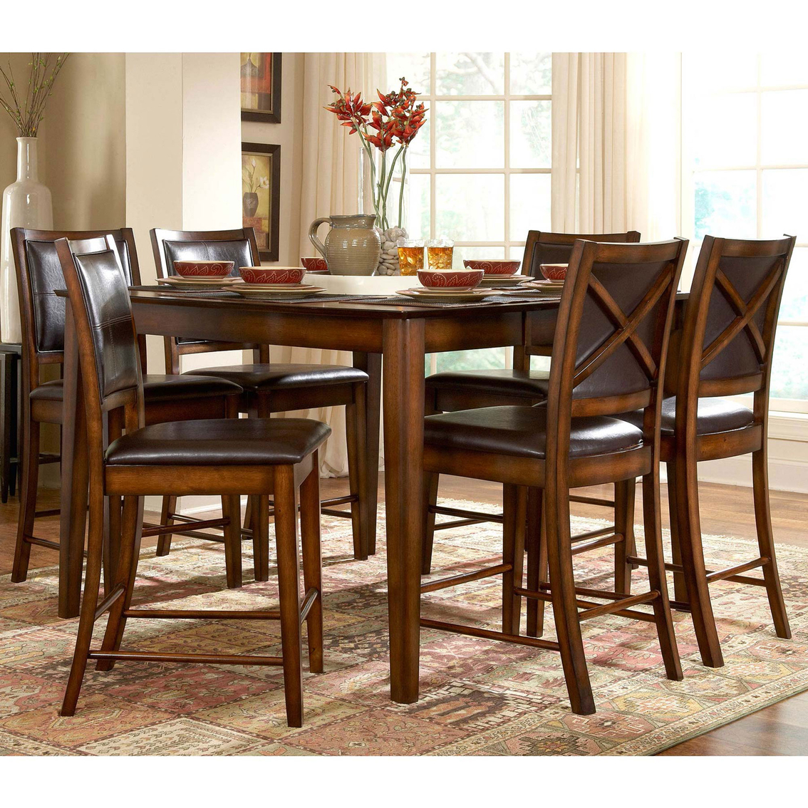 Homelegance Verona 5 Pc Counter Height Dining Set Dining Sets  # Muebles Seys Verona