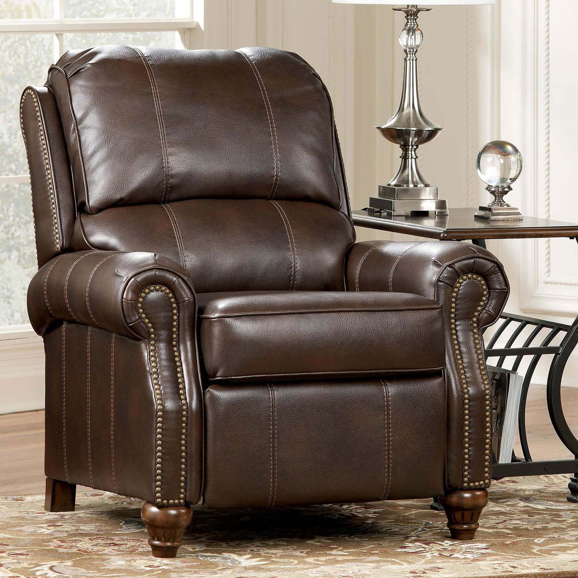 Ashley Durablend Low Leg Recliner Recliners Lift