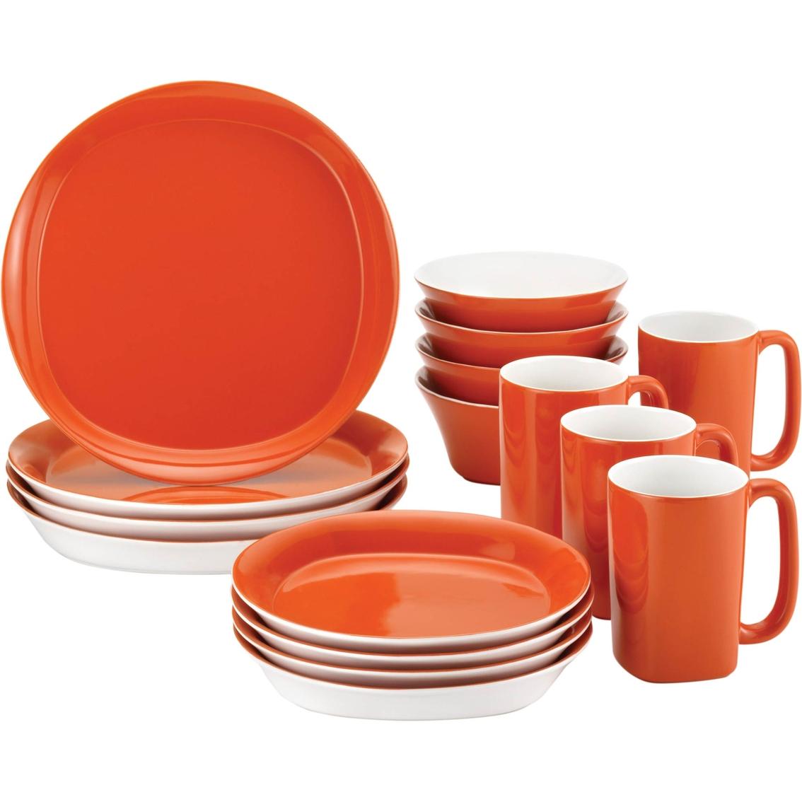 Rachael Ray Round And Square 16 Pc Tangerine Stoneware  : 50888882294 from www.shopmyexchange.com size 1134 x 1134 jpeg 343kB
