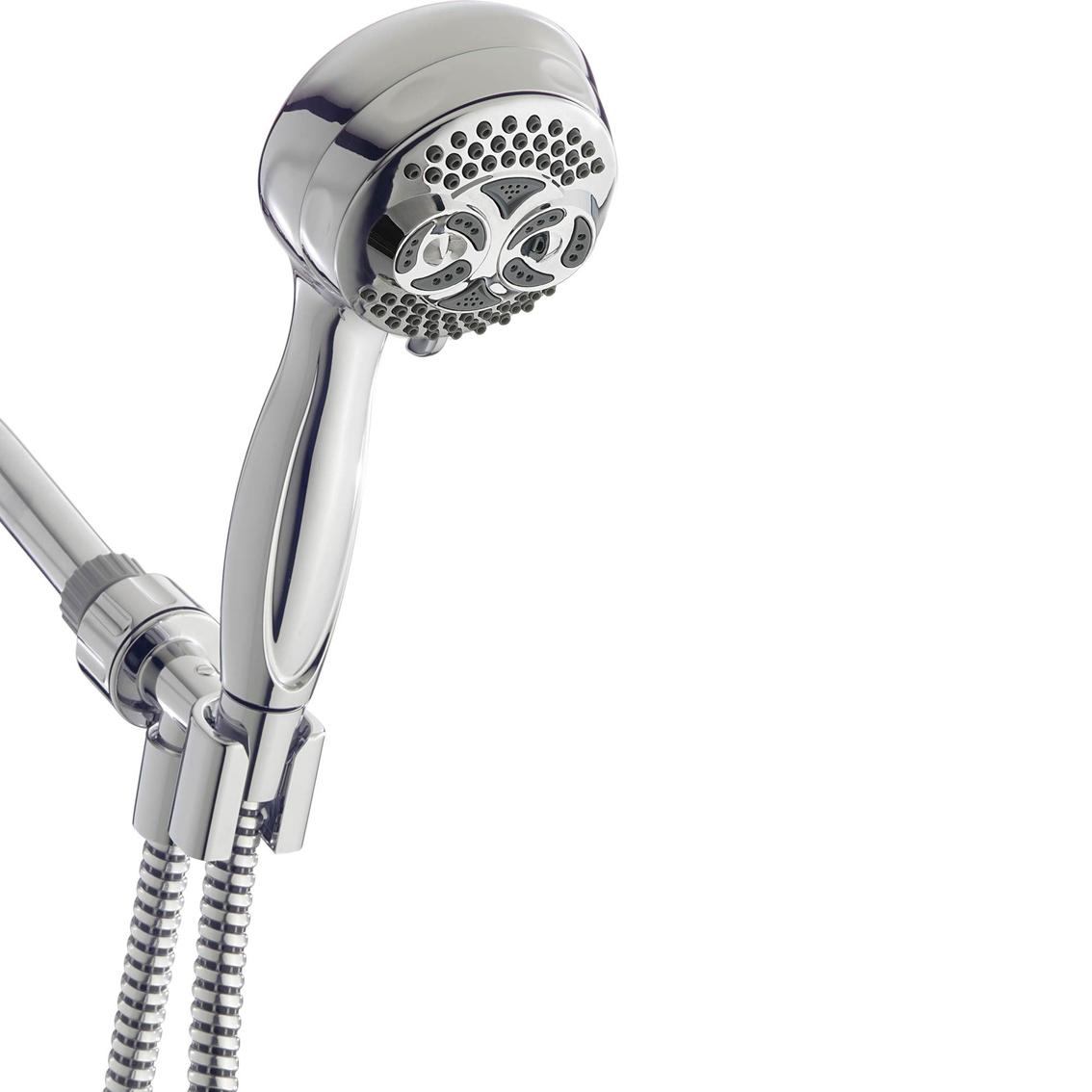 Waterpik Powerspray Twin Turbo Hand Held Shower Head Tub