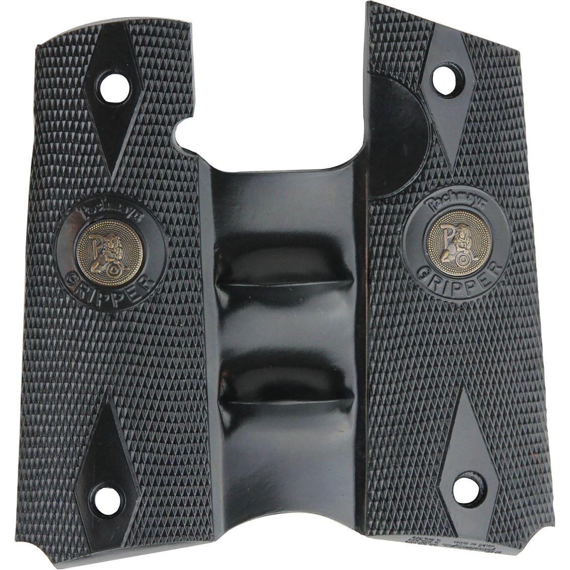 Pachmayr Grip Signature Colt 1911 Gripper Finger Grooves
