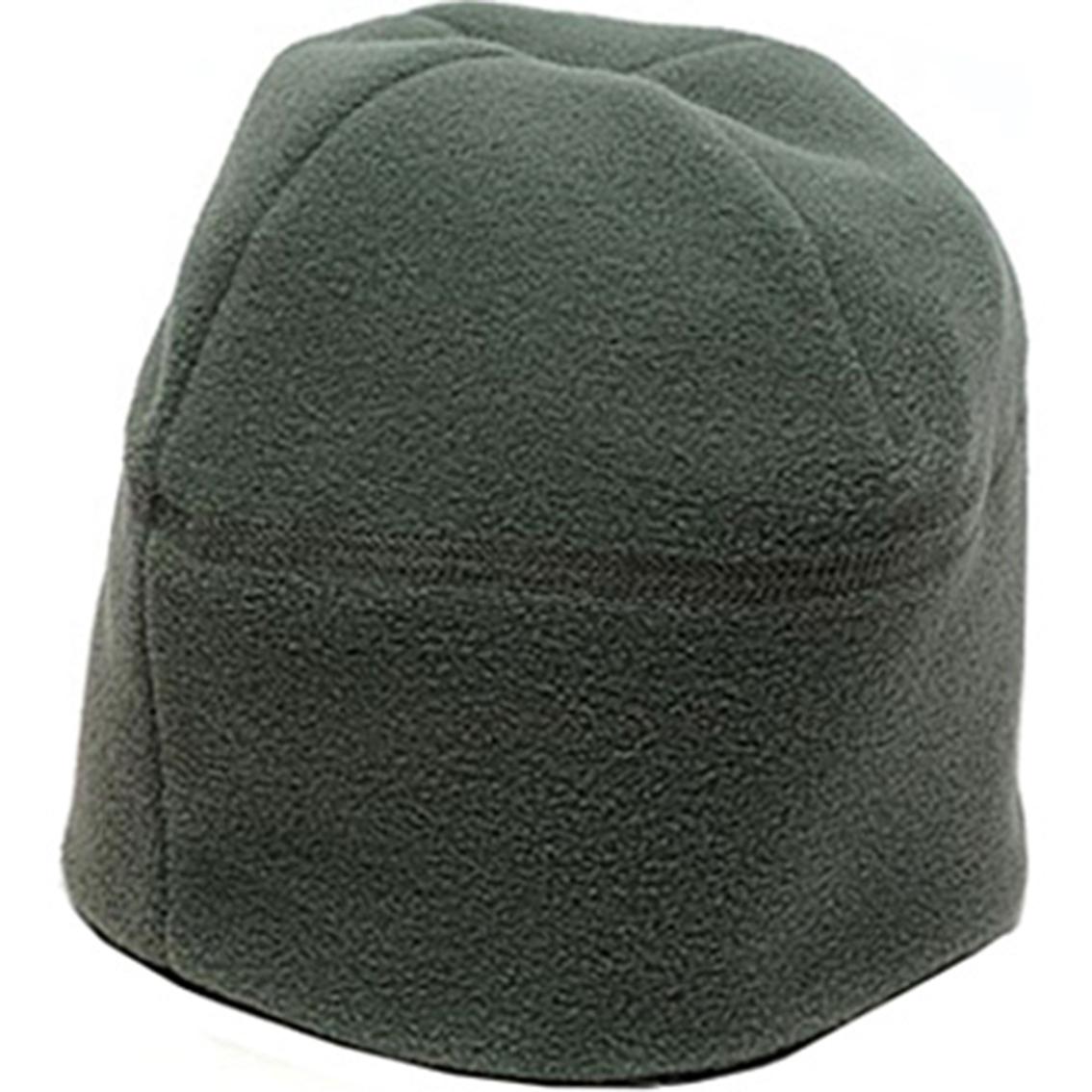 Dlats Acu Green Micro Fleece Cap Headgear Shop The