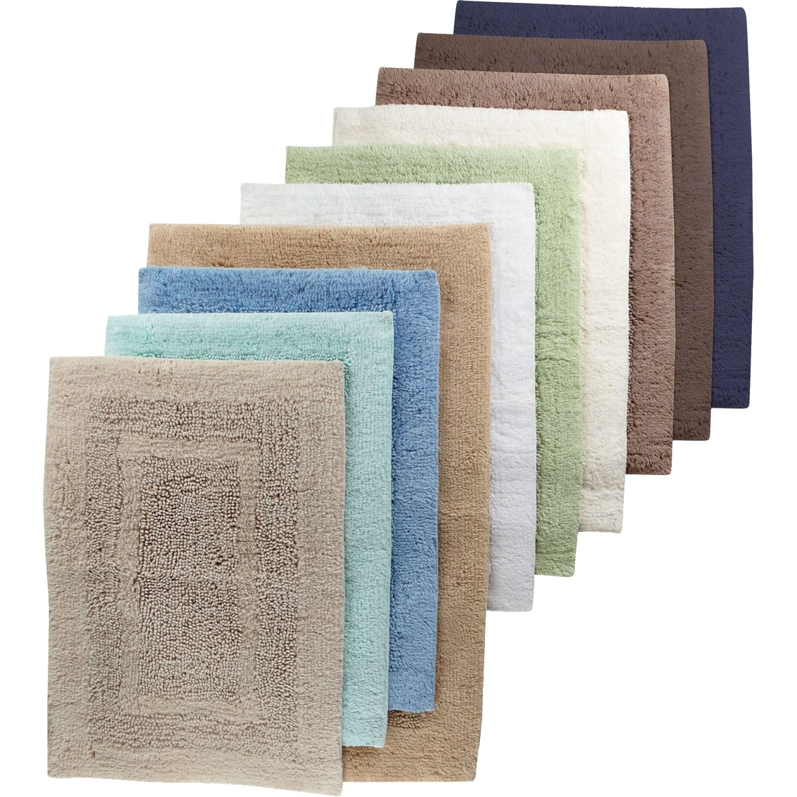 Martha stewart collection plush bath rug bath home appliances shop the exchange Martha stewart bathroom collection