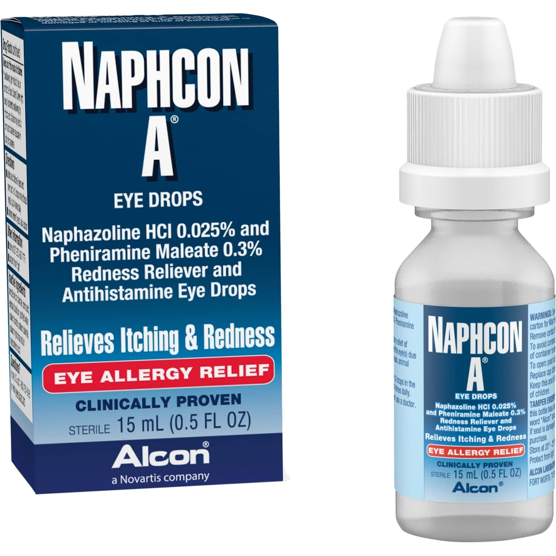 Naphcon A Allergy Relief Eye Drops | Accessories & Contact Solutions ...