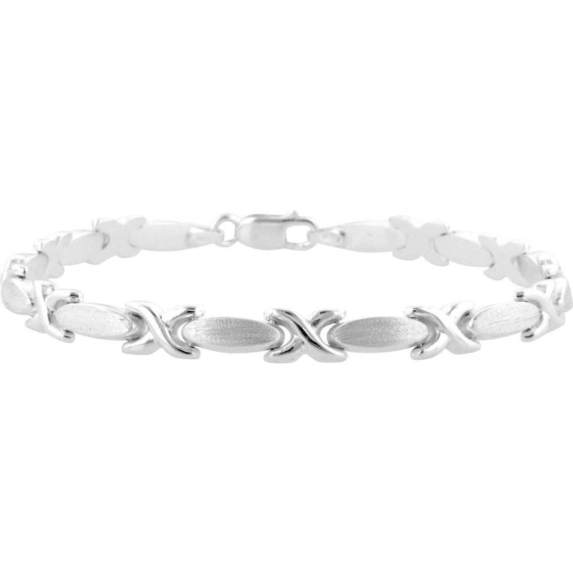 Sterling Silver Hugs And Kisses