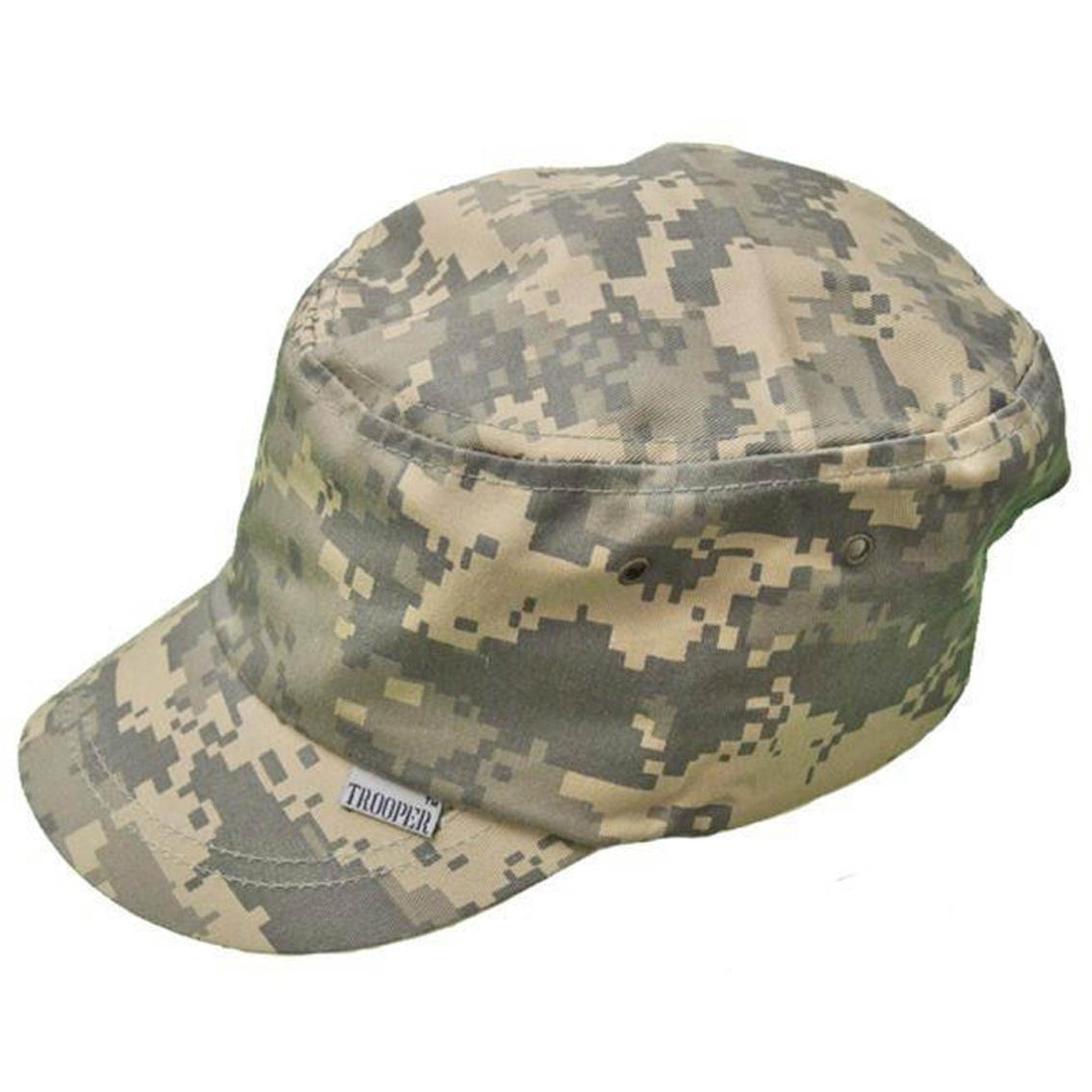 Trooper Clothing Kids Acu Camouflage Patrol Cap With Velcro Closure ... aa218254262