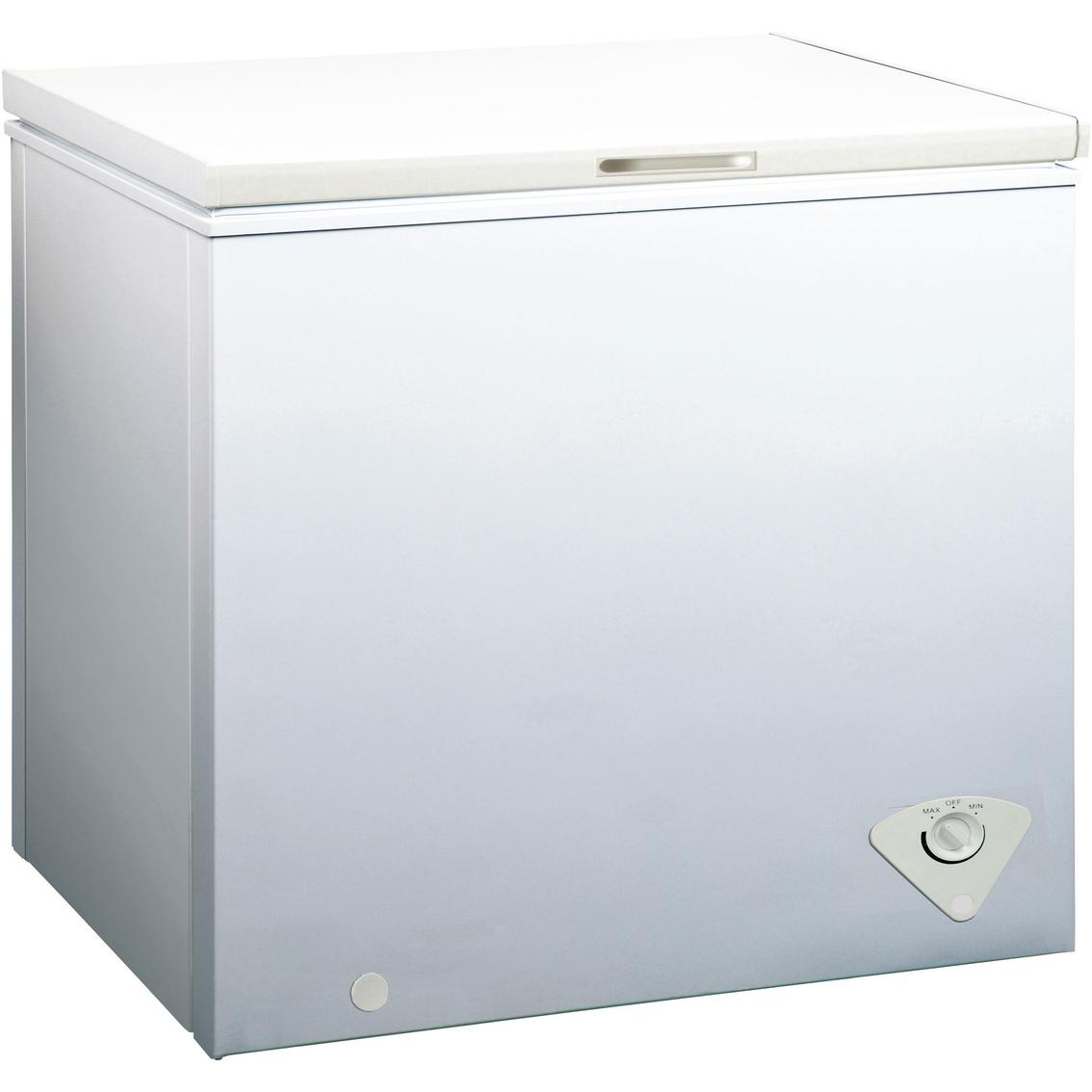 midea 7 cu ft chest freezer freezers home. Black Bedroom Furniture Sets. Home Design Ideas