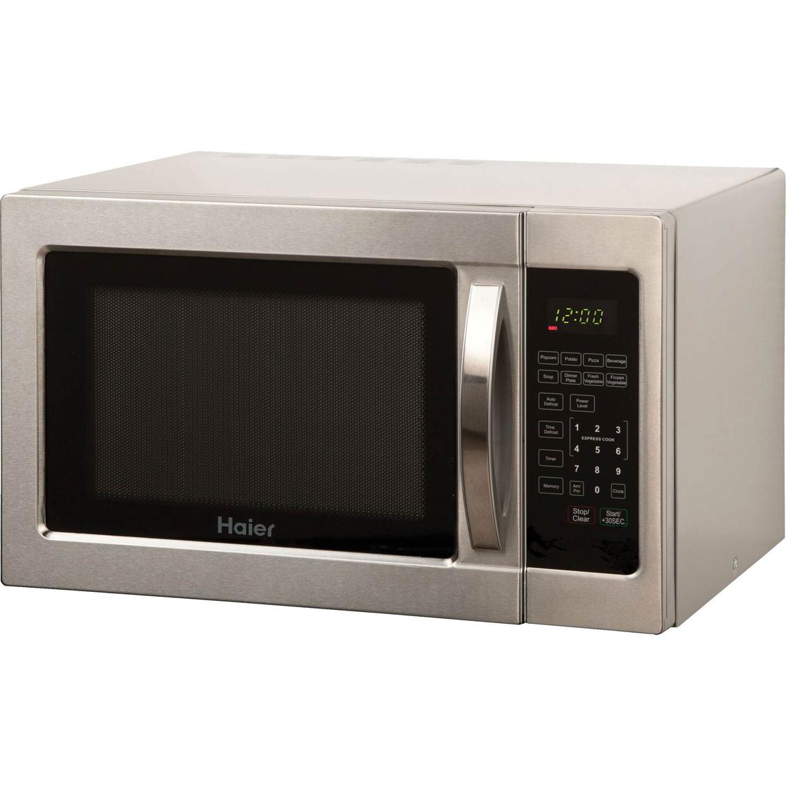 Haier 1.0 Cu. Ft. Microwave Countertop Microwaves Home ...