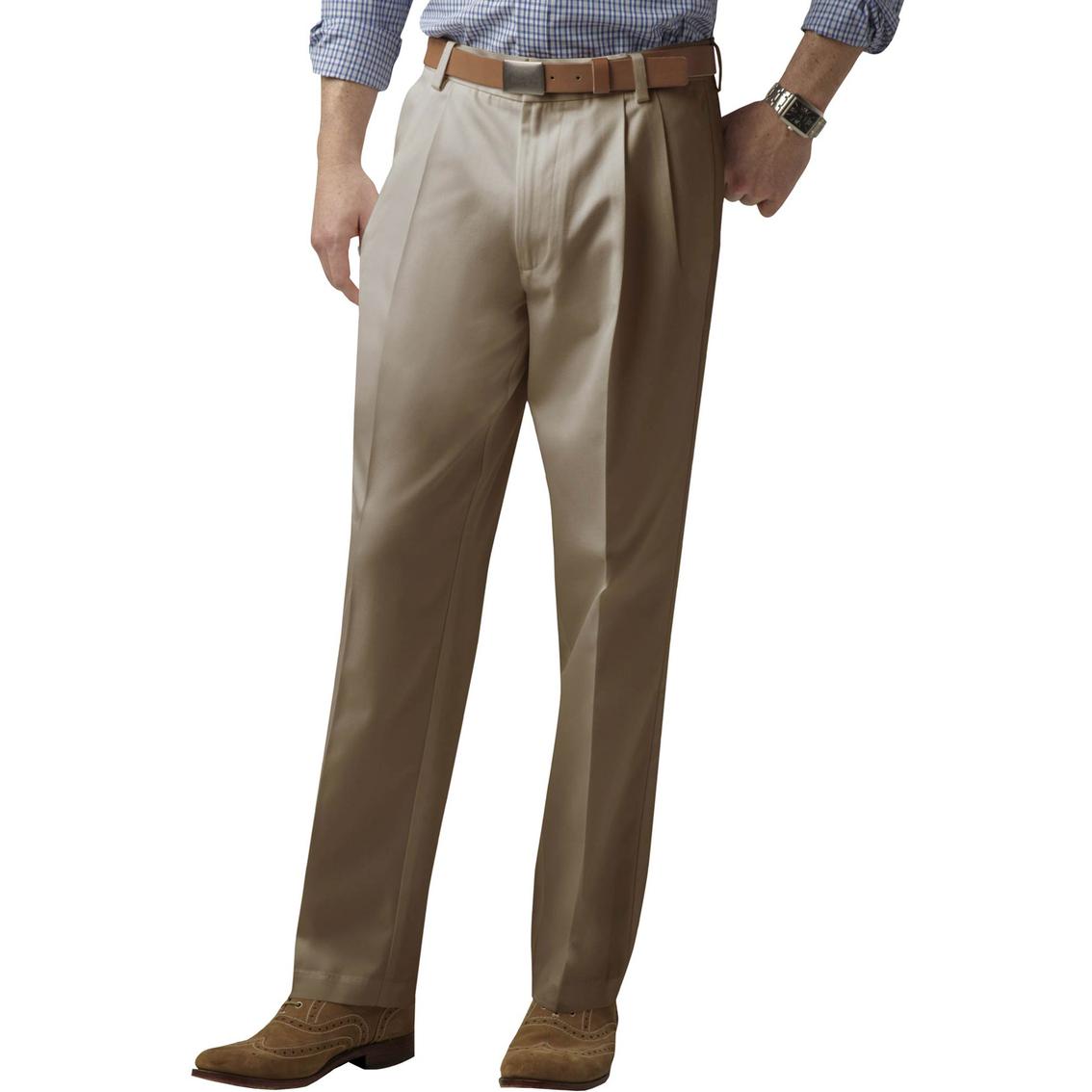 Dockers Men/'s Pants Big /& Tall Pleated Signature Khaki Casual Dress Pant NEW All