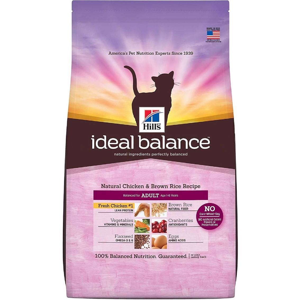 Ideal Balance Dog Food >> Ideal Balance Natural Chicken And Brown Rice Recipe Dry Dog
