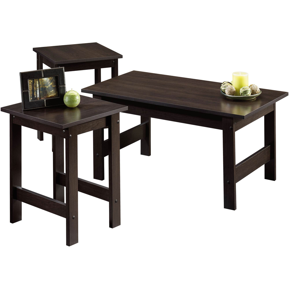 Sauder 3 Pc. Table Set | Living Room Tables | Home & Appliances ...